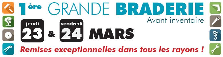 1ere GRANDE BRADERIE SOMEC - 23/24 MARS 2017