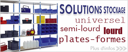 SOLUTIONS STOCKAGE / RAYONNAGE