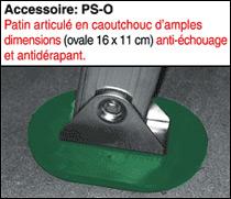 patin anti-échouage et anti-dérapant PS-O
