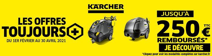 Les offres toujours plus Karcher