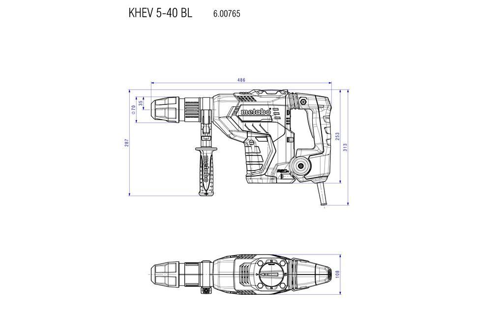 Dimensions KHEV 5-40
